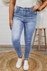 Skinny Jeans in Übergröße mit hohem Bund