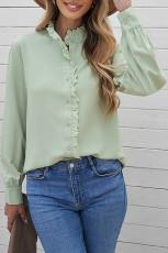 پیراهن آستین بلند توری رنگی توری