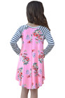 فستان زهري للأطفال