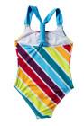 طفل الفتيات متعدد الشريط ملابس السباحة قطعة واحدة