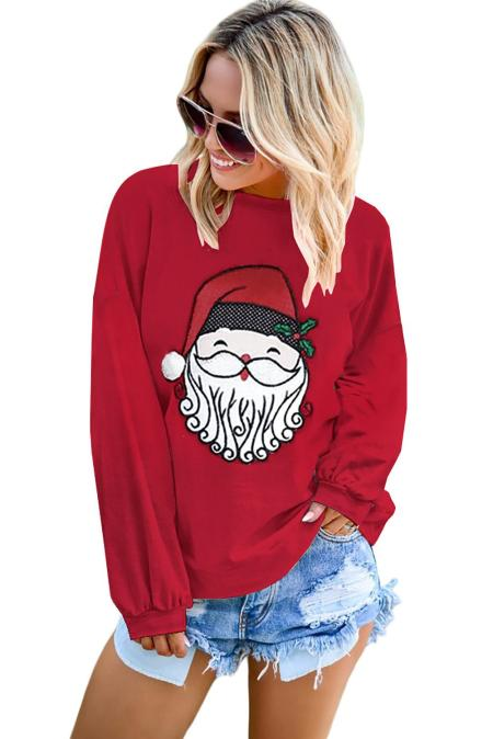 لطيف بابا نويل نمط البلوز البلوز