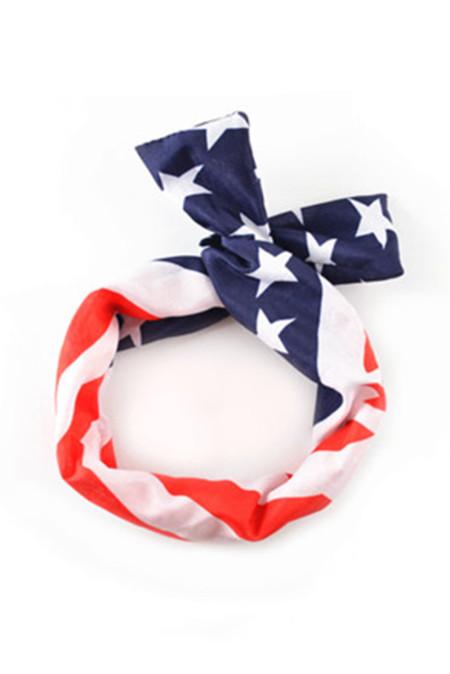 Заколка для волос с американским флагом
