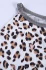 Tanque acanalado fluido empalmado leopardo