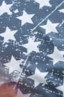 بلوزة العلم الأمريكي غير المتكافئة