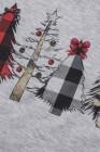 شجرة عيد الميلاد طباعة البلوز البلوز