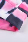 sweat à capuche tie dye