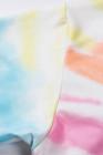 تيشيرت بألوان قوس قزح بأكمام طويلة