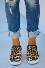 Slip-On-Sneaker mit Leopardenmuster