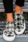 حذاء قماش أسود بافلو