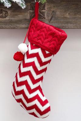 الأحمر بومبوم عيد الميلاد شنقا ديكور جورب
