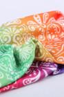 عصابة رأس مرنة عريضة متعددة الألوان بطبعة بيزلي