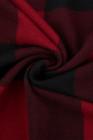 كارديجان طويل منقوش باللون الأحمر