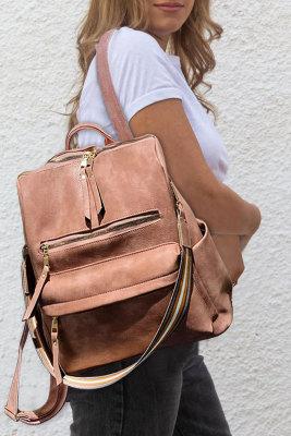 حقيبة ظهر وردية متعددة الوظائف
