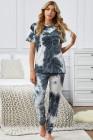Pantaloni PJ in t-shirt color grigio chiaro