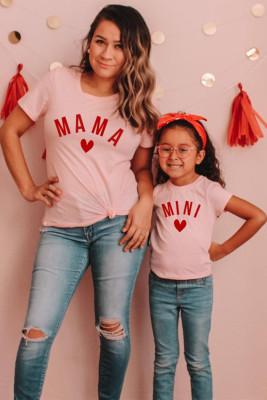 Camiseta para niña MINI con estampado de letras