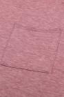 Camiseta con bolsillos y aberturas laterales