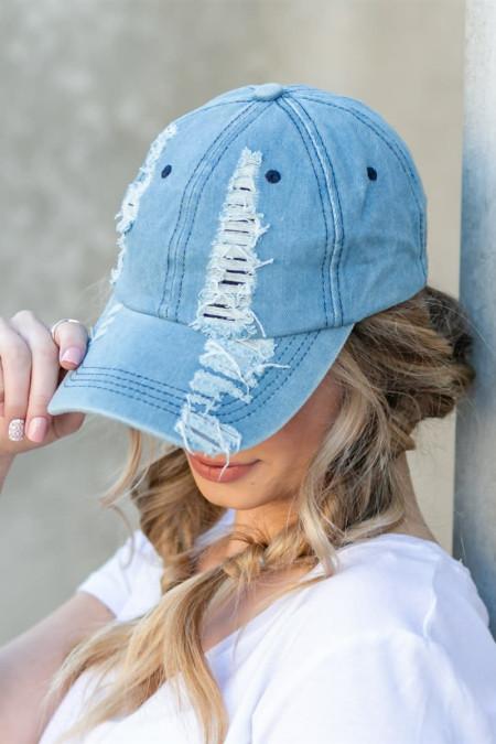 قبعة شارع محب السماء الزرقاء