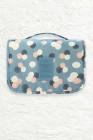 حقيبة مستحضرات التجميل التخزين الأزرق السماء