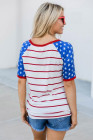 Camiseta del Día Nacional de Estrellas y Rayas