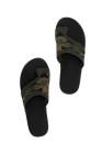 Camo Flat-Toe Stretch Fly Strick atmungsaktive Sandalen