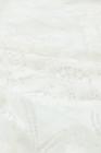 Camiseta sin mangas de encaje blanca