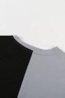 Camiseta color block con aberturas