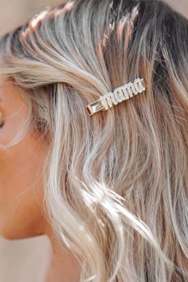 Шпилька для завивки волос Mama Rhinestone Perm