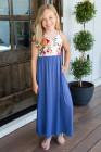فستان ماكسي للأطفال