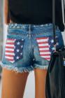 Pantalones cortos de la bandera americana