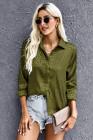 Blusa de manga larga para mujer