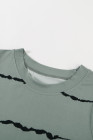 camiseta sin mangas con efecto tie dye