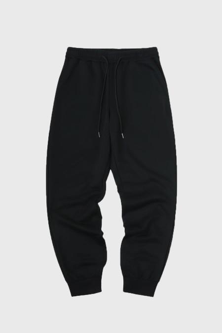 Pantalones deportivos grises con cintura elástica para hombre