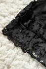 Brassière noire en dentelle épaisse