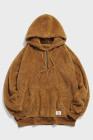 Sudadera con capucha de lana para hombre