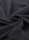 Chemise Venecia negro con ribete de encaje
