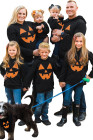 Толстовка-пуловер с рисунком тыквы на Хэллоуин
