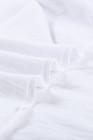 Белая базовая однотонная майка с круглым вырезом
