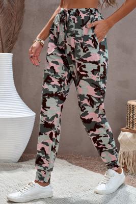 Rosa Tarnung Casual Sports Pants