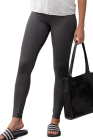 Leggings ajustados grises de cintura alta