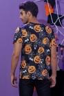 Мужская футболка с короткими рукавами и 3D-принтом на Хэллоуин