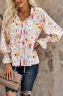 Cakewalk Цветочная Копченая Блуза