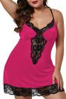 Сорочка Rose Venecia с кружевной отделкой