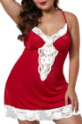 Сорочка Venecia с кружевной отделкой